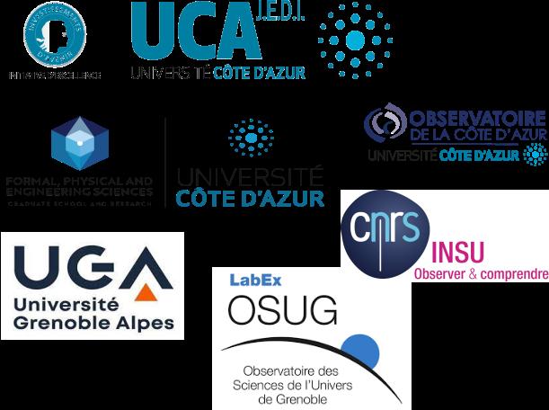 sponsors Earthquake school 2021 - Cargese